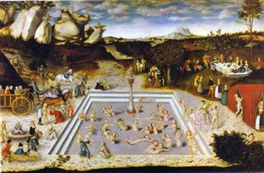 Fountain of Youth-Cranach
