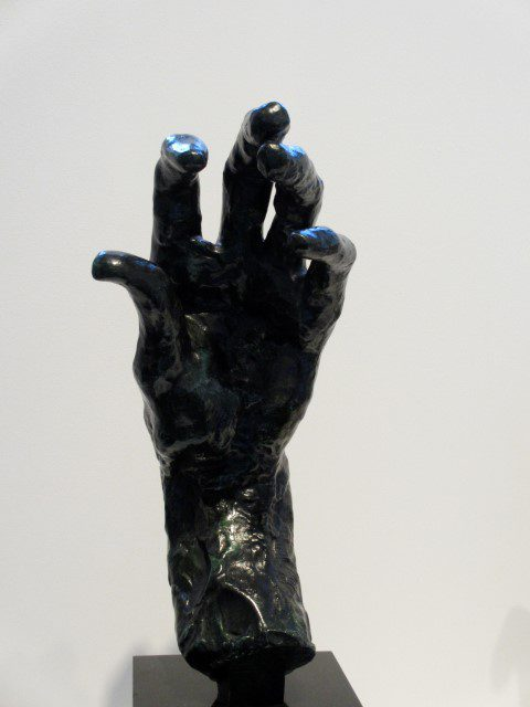 Auguste Rodin's Large Left Hand