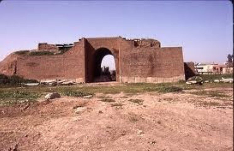 A view of ancient Nineveh