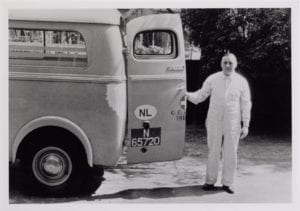 Specialized ambulance for smallpox patients