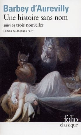 Cover of Une Histoire sans nom which named Syndrome de Lasthenie de Ferjo