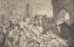 The plague of Florence as described by Boccaccio