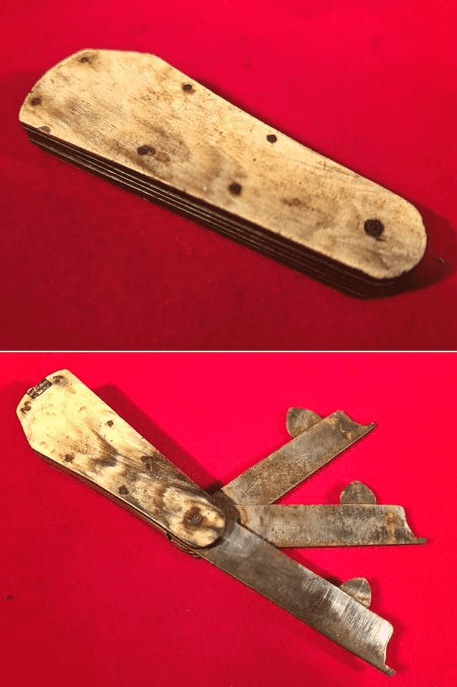 Fleam set used by a barber surgeon