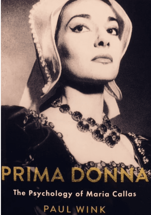 Cover: Prima Donna: The Psychology of Maria Callas