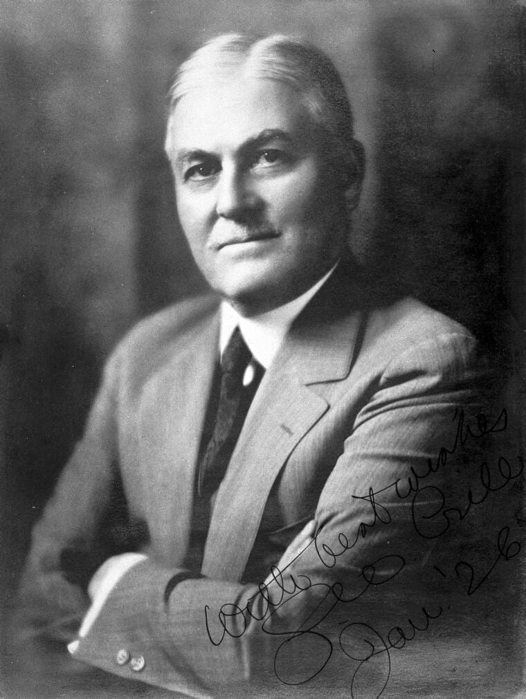 Portrait of George W. Crile