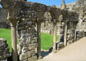 Ruins of Rievaulx, Monks' Infirmary
