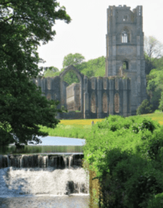 Tower of Fountains Abbey, North Yorkshire